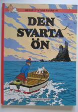 Tintin 15 Den svarta ön 4:e uppl. 1970 Vg