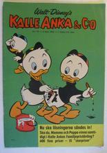 Kalle Anka 1962 10 Vg