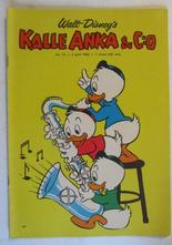 Kalle Anka 1962 14 Vg+