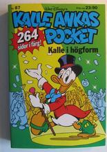 Kalle Ankas pocket 087 Kalle i högform