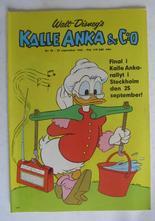 Kalle Anka 1966 38 Vg+