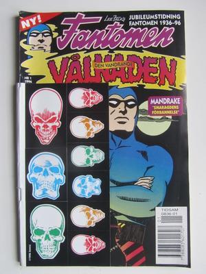 Fantomen Den vandrande vålnaden 1996 01 Vg+ med klistermärken