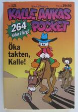 Kalle Ankas pocket 121 Öka takten, Kalle