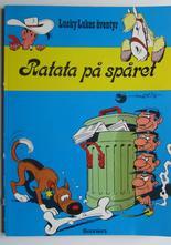 Lucky Luke 18 Ratata på spåret 1:a uppl.