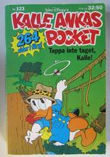 Kalle Ankas pocket 123 Tappa inte taget, Kalle