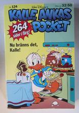 Kalle Ankas pocket 124 Nu bränns det, Kalle