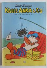 Kalle Anka 1962 36 Vg+