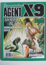 Agent X9 Julalbum 2004 med Modesty Blaise
