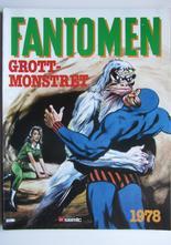 Fantomen julalbum 1978 Grottmonstret