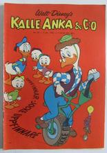 Kalle Anka 1962 40 Vg+