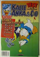 Kalle Anka & Co 1996 39 med bilaga