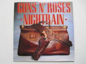 """Guns N' Roses Nighttrain / Reckless 7"""" singel"""