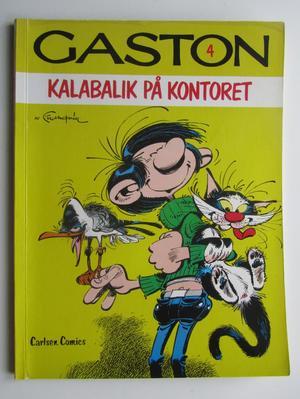 Gaston 04 Kalabalik på kontoret 1:a uppl.