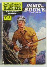 Illustrerade Klassiker 005 Daniel Boone 1:a uppl. Good