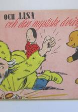 Nalle och Lisa 1947 den mystiske dvärgen Vg