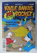 Kalle Ankas pocket 149 Guldjakt på ovädersön