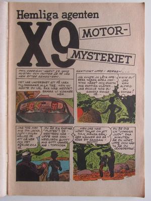 Detektiväventyr 1963 12 X9 Vg+