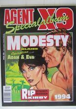 Agent X9 Julalbum 1994 med Modesty Blaise