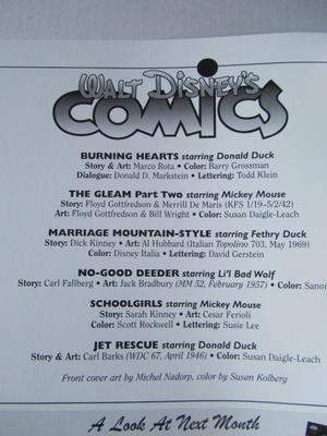Walt Disney's Comics & Stories #689 Carl Barks m.fl.