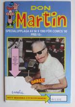 Don Martin 1990 09 Specialupplaga Comics 90 Signerad