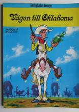 Lucky Luke 28 Vägen till Oklahoma 1:a uppl.