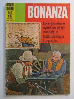 Ranchserien Bonanza 1971 01 Vg Bröderna Cartwright