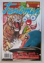 Fantomen 1992 22 med klistermärken
