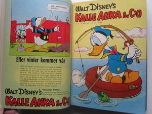 Kalle Anka 1957 inbunden nr 1-25