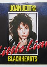 "Joan Jett Little Liar (Remix) / What Can I do for You 7"" singel"
