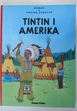 Tintin nyöversättningen 03 Tintin i Amerika