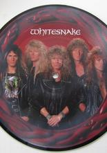 "Whitesnake The Deeper the Love / Judgement Day 7"" singel picture disc"