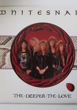 "Whitesnake The Deeper the Love / Judgement Day 7"" singel"