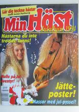 Min häst Julalbum 1995 med poster