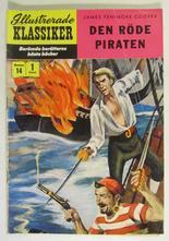Illustrerade Klassiker 014 Den röde piraten 1:a uppl. Vg