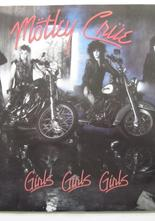 "Motley Crue Girls Girls Girls / Sumthin´ for Nuthin´ 7"" singel"