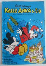 Kalle Anka 1968 52 Vg-