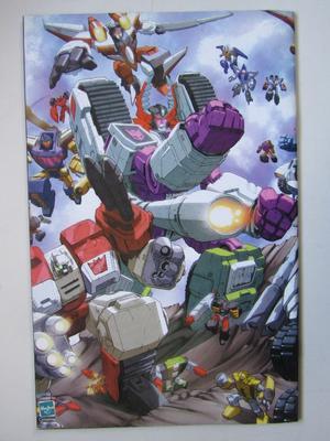 Transformers Armada 2003 01 med poster