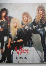 "Vixen Cryin' / Desperate 7"" singel med gatefold sleeve"