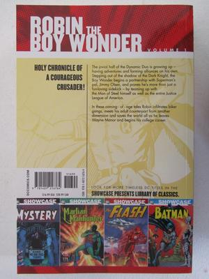 Robin the Boy Wonder Vol 1 DC Showcase Presents