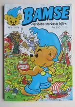 Bamse 1978 09 Vg