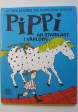 Pippi Långstrump Pippi är starkast i världen 1970