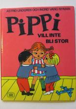 Pippi Långstrump Pippi vill inte bli stor 1971