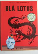 Tintin 21 Blå Lotus 8:e uppl.