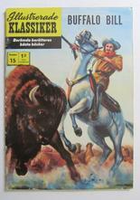 Illustrerade Klassiker 015 Buffalo Bill 3:e uppl. Vg+