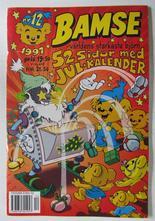 Bamse 1997 12 med julkalender