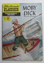 Illustrerade Klassiker 017 Moby Dick 2:a uppl. Vg+