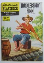 Illustrerade Klassiker 019 Huckleberry Finn 3:e uppl. VF