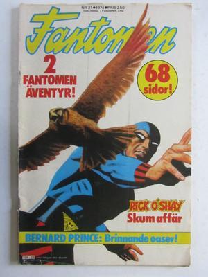 Fantomen 1974 21 Vg+
