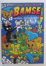 Bamse 1986 12 med julkalender