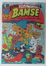 Bamse 1988 08 VF med bilaga klistermärken